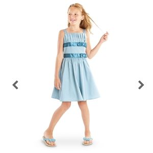 American girl double bow dress